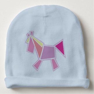caballo gorrito para bebe