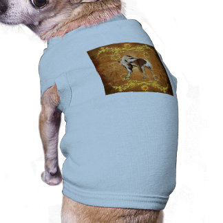 Caballo hermoso playera sin mangas para perro