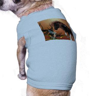 Caballo hermoso camisas de perritos