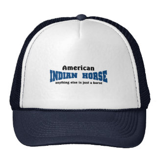 Caballo indio gorras de camionero