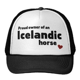 Caballo islandés gorras de camionero