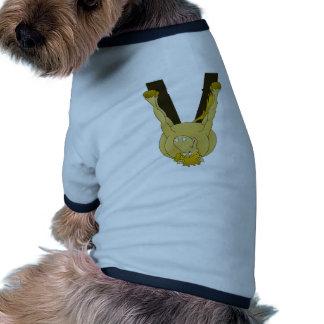 Caballo lindo del monograma V personalizado Ropa Perro