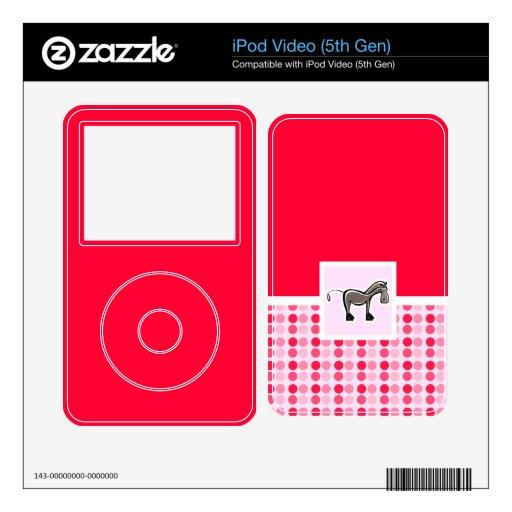 Caballo lindo iPod video skin