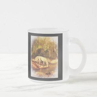 Caballo místico taza de café esmerilada