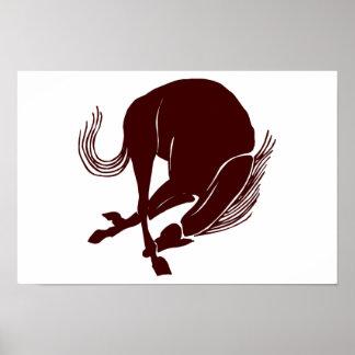 caballo, neddy, corcel, equino, broncho, caballo s poster