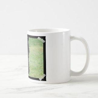 Caballo negro dulce taza de café