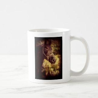 Caballo negro taza