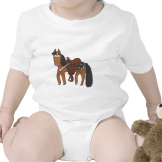 Caballo occidental de Riki Trajes De Bebé