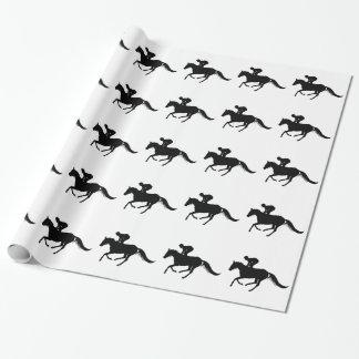 caballo papel de regalo