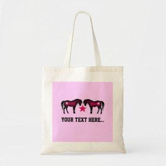 Caballo personalizado femenino rosado