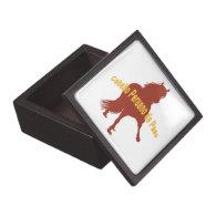 Caballo Peruano de Paso Rust Premium Trinket Box