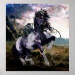 Caballo pintado azul de Apache Impresiones