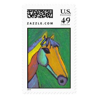 Caballo pintado - sello