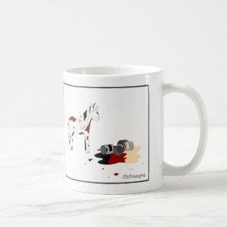 Caballo pintado taza de café