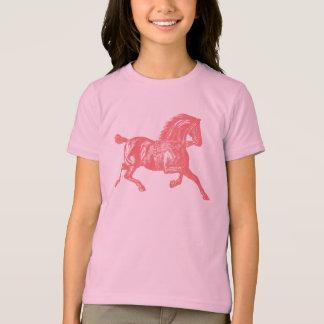 Caballo rosado playera