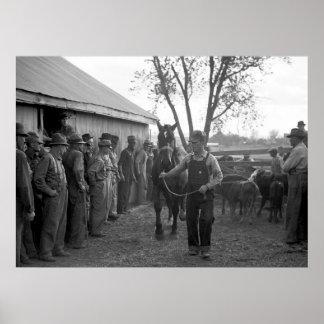Caballo Sale, 1939 Impresiones