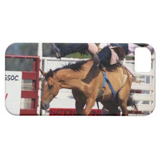 CABALLO SALVAJE BUCKING EN EL RODEO 3 FUNDA PARA iPhone SE/5/5s