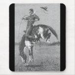 Caballo salvaje Bucking por Remington, vaqueros de Tapete De Ratón