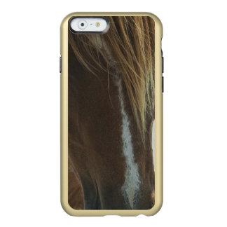 Caballo salvaje del mustango funda para iPhone 6 plus incipio feather shine