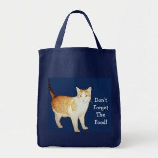 Caballo salvaje el gato bolsas lienzo