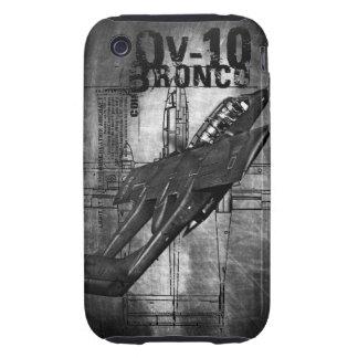 Caballo salvaje OV-10 iPhone 3 Tough Carcasas