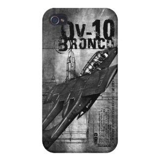 Caballo salvaje OV-10 iPhone 4 Carcasa