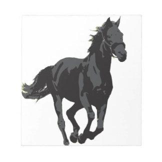 Caballo - semental negro