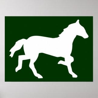 caballo simple impresiones