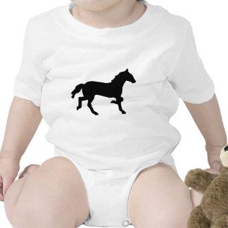 caballo simple traje de bebé