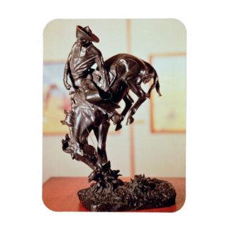 Caballo-Tipo (bronce) Imán De Vinilo