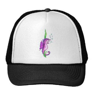 Caballo violeta del agua gorras