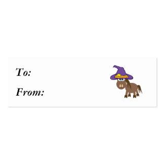 caballo witchy del potro de los goofkins tarjetas de visita mini