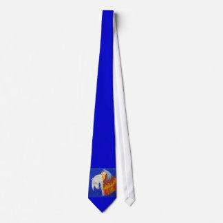 Caballo y ángel corbata personalizada