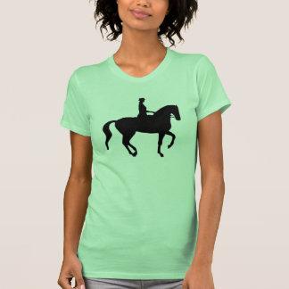 Caballo y jinete del Dressage de Piaffe Camiseta