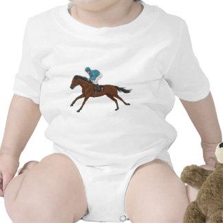 Caballo y jinete trajes de bebé