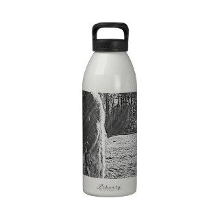 caballos botella de agua reutilizable