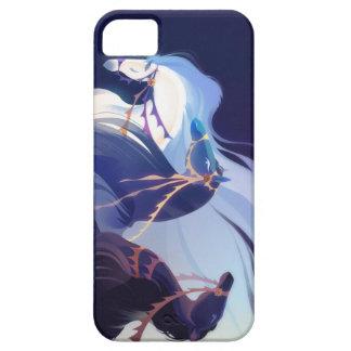Caballos azules - caso del iphone 5C iPhone 5 Case-Mate Protectores