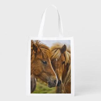 caballos bolsa de la compra