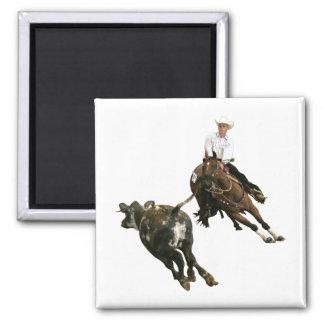 Caballos - caballo del corte imán cuadrado