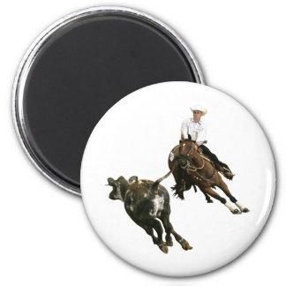 Caballos - caballo del corte imán redondo 5 cm