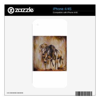 Caballos Calcomanías Para El iPhone 4