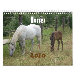Caballos Calendarios De Pared