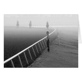 Caballos - carrera de caballos - Railbird Tarjeta De Felicitación