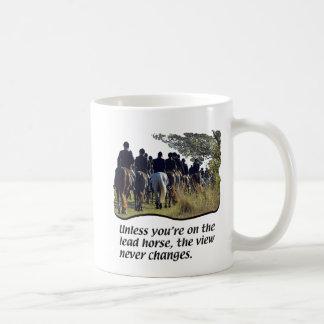 Caballos - caza de Fox Tazas De Café