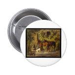 Caballos de Adán Albrecht en el pórtico Pin
