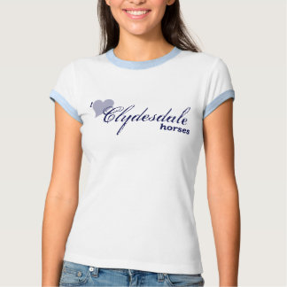 Caballos de Clydesdale T-shirts