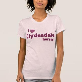 Caballos de Clydesdale Tshirts