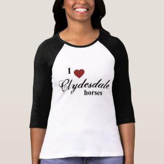 Caballos de Clydesdale Camisetas