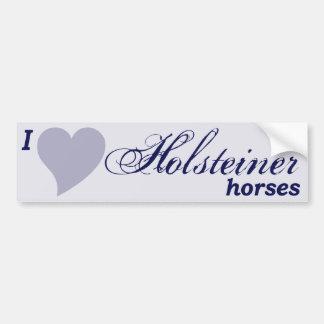 Caballos de Holsteiner Pegatina Para Auto