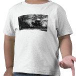 Caballos de la carga que toman una rotura camisetas